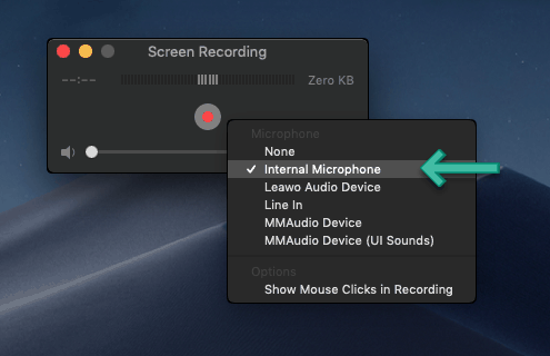 How to Free Record Screen with Sound on macOS 10 14 Mojave