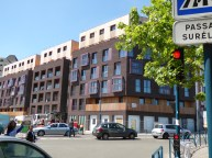 Pantin (93) quartier des Grands Moulins