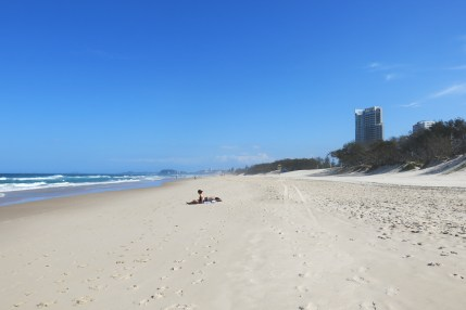 Sun worshippers @ Broadbeach, QLD