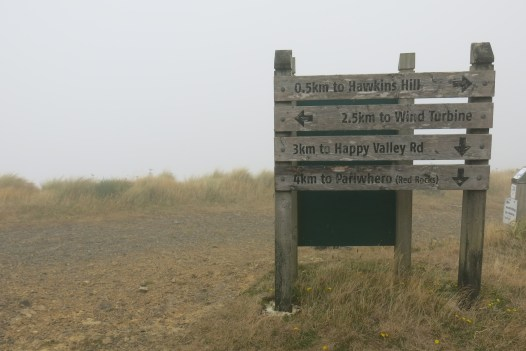 Sign on the way back down.