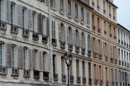 Buildings with similar facades