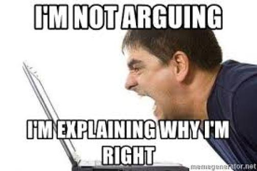 I'm not arguing I'm explaining why I'm right - angry computer guy | Meme  Generator