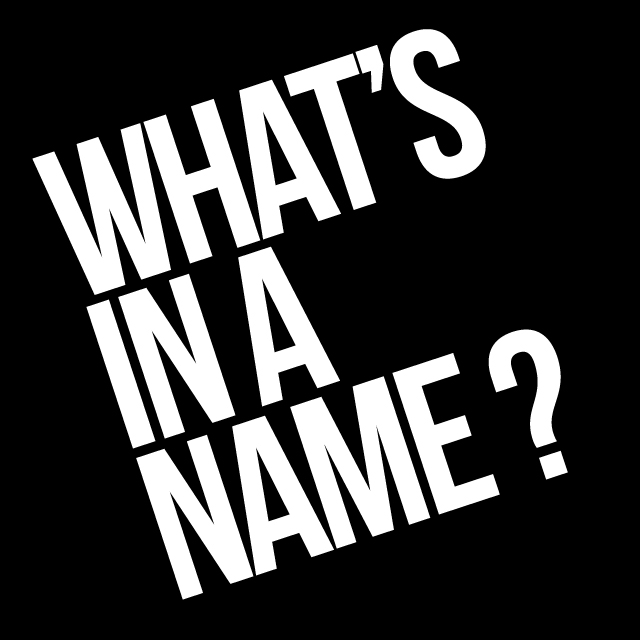 What's In A (popular) Name?  Scripturient