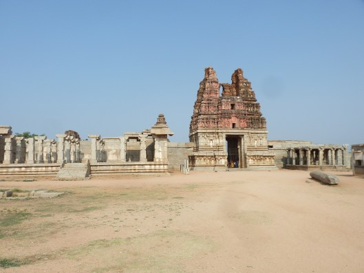 One of the gopurams that lead to the Vitthala temple.