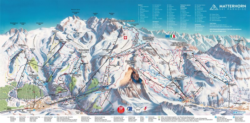 MatterhornSkiParadise-PisteMap-2014