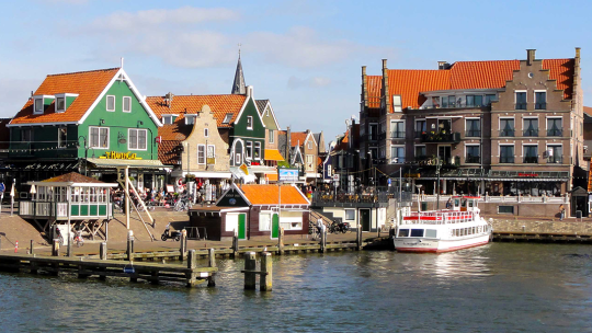 Volendam – a fishing village on the IJsselmeer