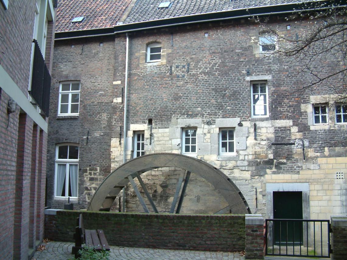 Water wheel Bishop's mill