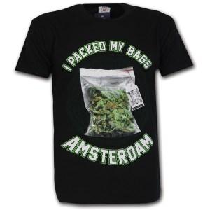 Amsterdam Bag Of Weed T-Shirt