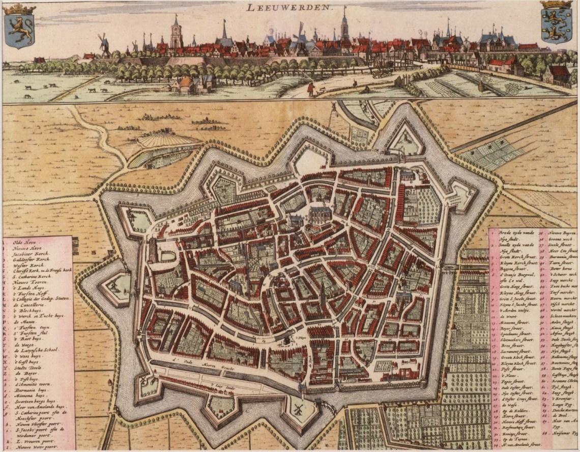 Leeuwarden in 1664