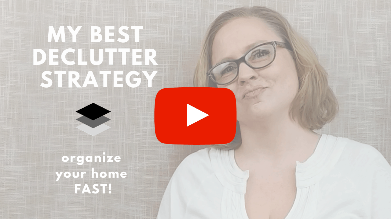 The Best Decluttering Strategy