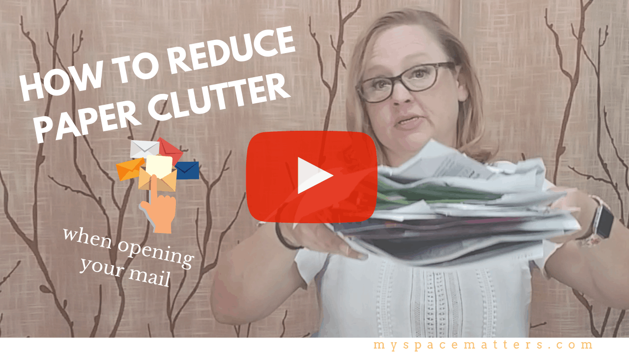 Six Tips for Reducing Paper Clutter when Opening your Mail