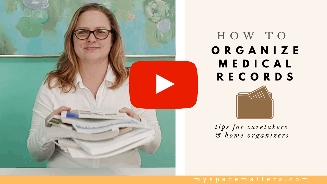 Paper Clutter – How to Organize Medical Records