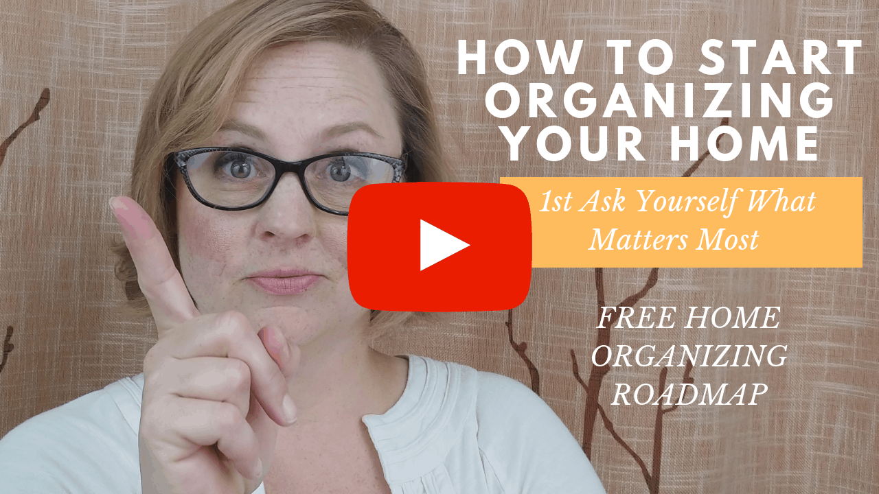 How to Start Organizing your Home, Two Simple Questions to Begin Your Organizing Journey
