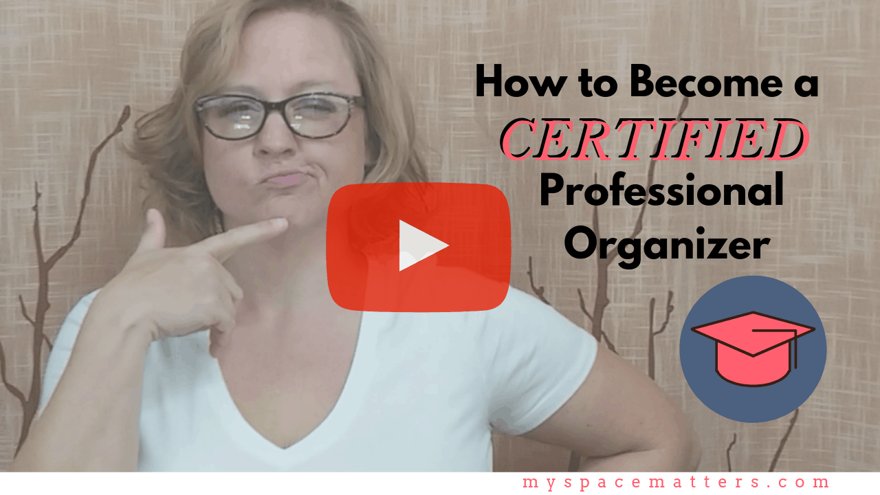 How to Become a Certified Professional Organizer