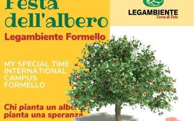 LEGAMBIENTE: Giornata dell'albero
