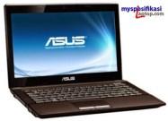 Harga Laptop Gaming Asus K45DR-VX032D