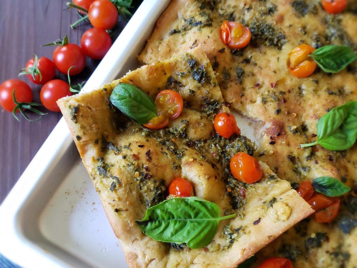 Vegan flat bread