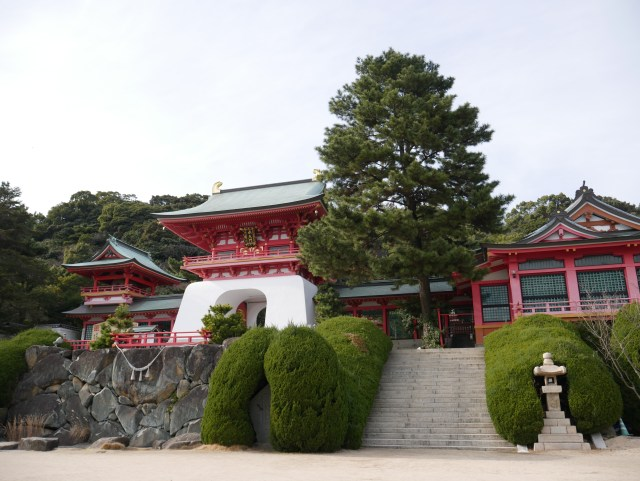 photo of Akama shrine, Japan