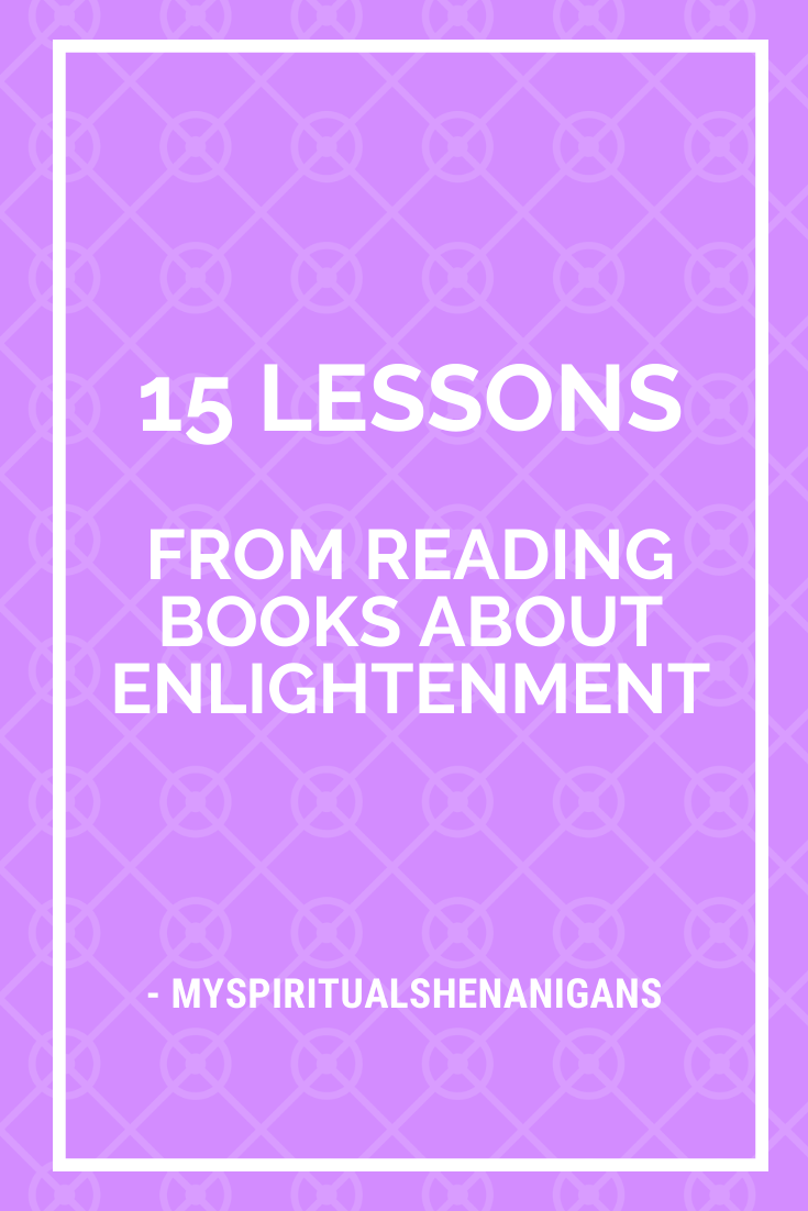 spiritual lessons from reading books, enlightenment