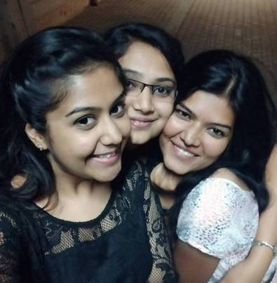 health, healthy, roommates, selfie, happy friends, together, anniversary, celebrate, bangalore, smiling, self-esteem, confidence