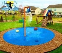 Backyard Splash Pad | Outdoor Goods
