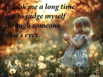 self judgement