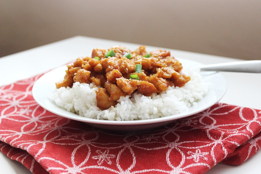 Crockpot Sweet and Sour Chicken