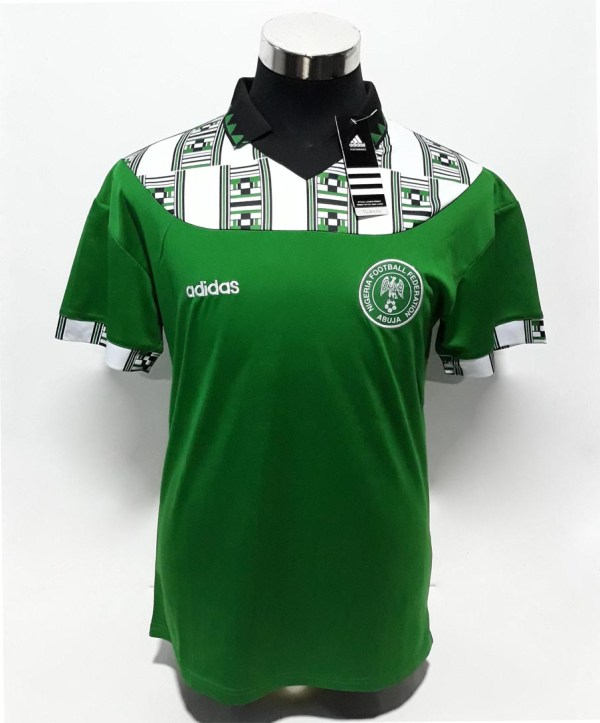 2fc66a850e Nigeria 1994 World Cup Away Jersey