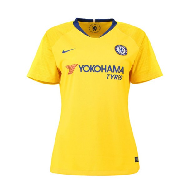 bd651750a Chelsea FC 2018 19 Away Female Jersey front