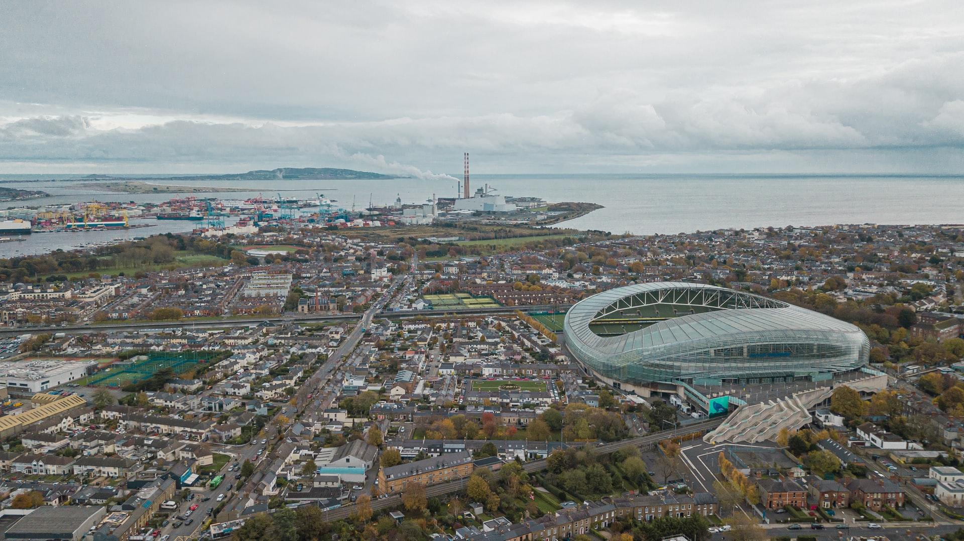 The Aviva Stadium in Dublin