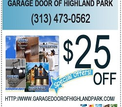 Photo of Garage Door of Highland Park