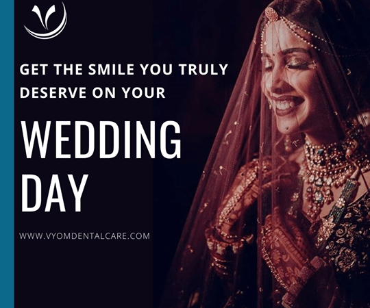 Memorable Smile for your big day