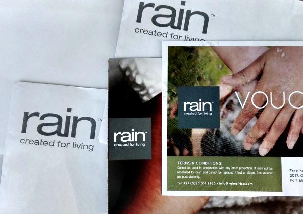 Rain Africa voucher
