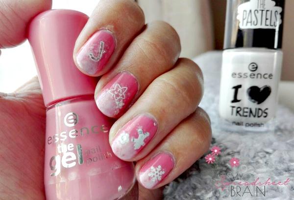 DIY festive nail art
