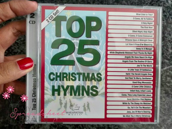 Top 25 Christmas Hymns