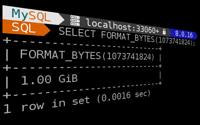 SELECT FORMAT_BYTES(1073741824)