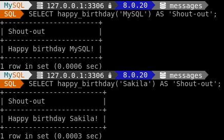 Happy birthday MySQL. Happy birthday Sakila.