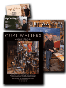 Layout and Design for Curt Walters