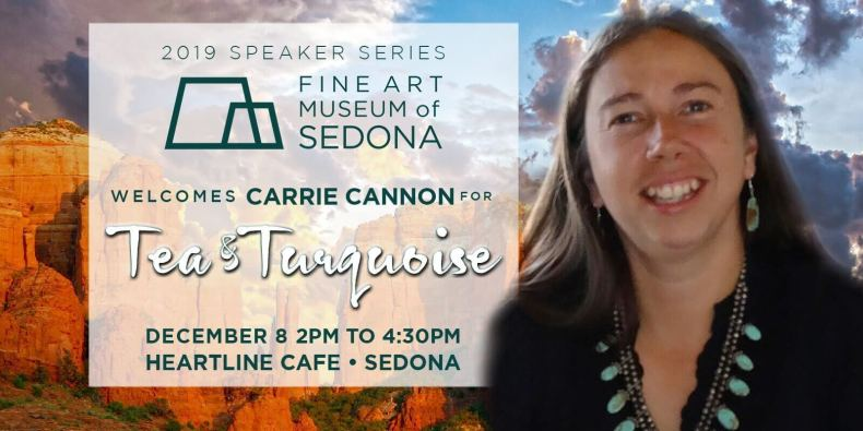 "Fine Art Museum of Sedona Announces ""Tea and Turquoise"""