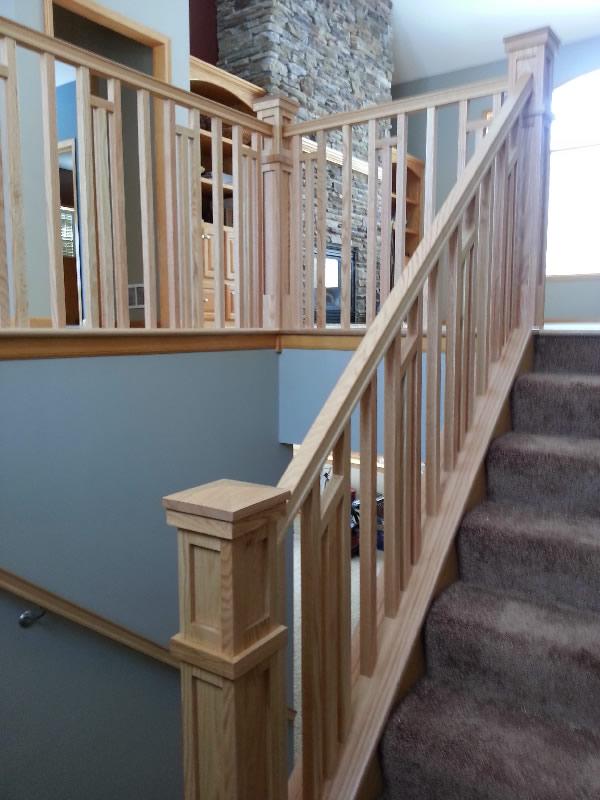 Frank Lloyd Wright Style Railing MyStairways