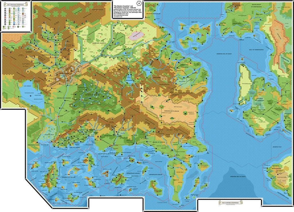 TM1 & TM2 Western and Eastern Countries, 8 miles per hex | Atlas of ...