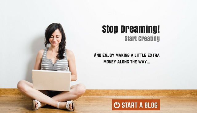effective startup marketing campagin, start a blog