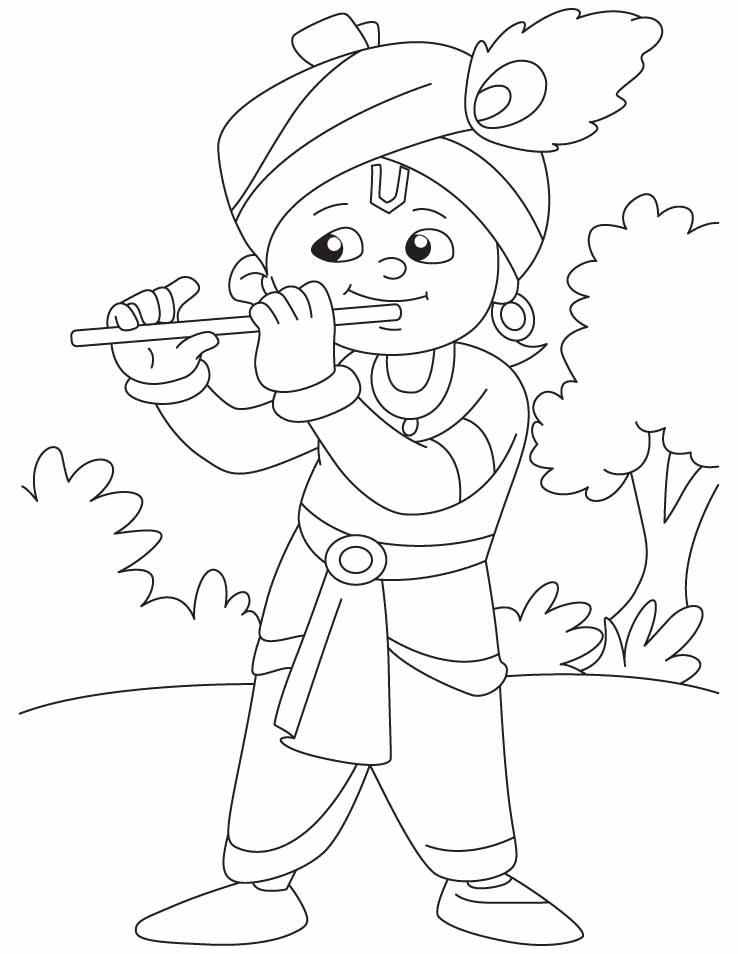 Draw Krishna Cartoon Little Krishna Cartoon Images To Draw
