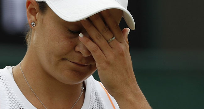 World Number One Ashleigh Barty Knocked Out