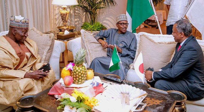 Buhari has nothing to do with IPOB in Japan