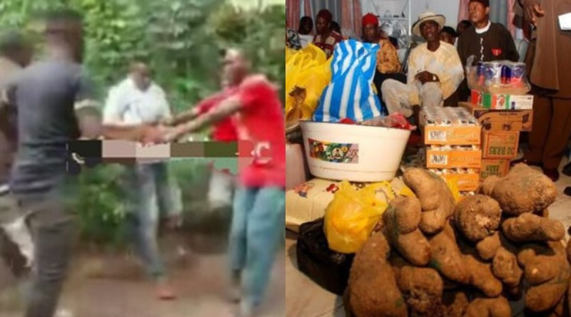 Elders And Youths Fight Over Bride Price