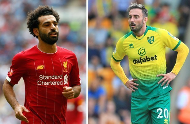 Where To Watch Liverpool vs Norwich City live