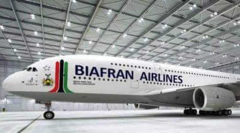 Nnmadi Kanu Commissions New Biafra Airline