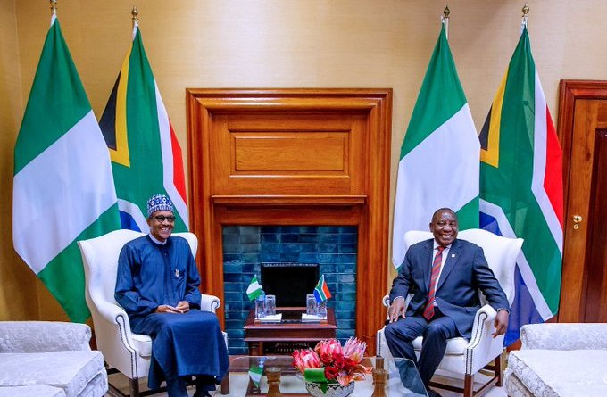 President Buhari did not talk about Xenophobic Attack