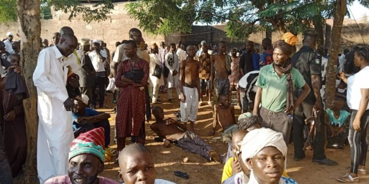 Police Discovers Ritual Camp Where 259 detainee